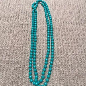 Stella & Dot turquoise necklace strand